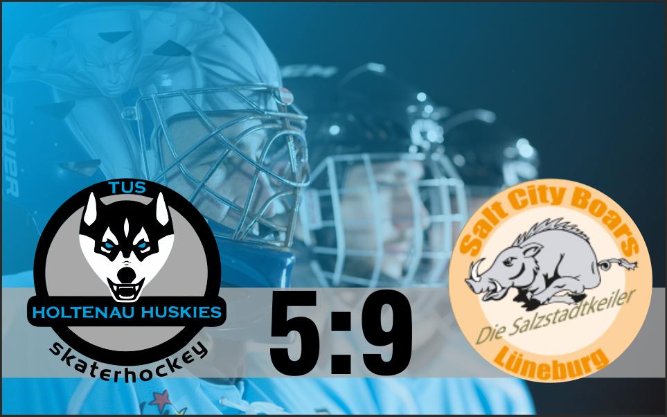 Deutliche 5:9 (2:3/2:2/1:4) Niederlage gegen Lüneburg